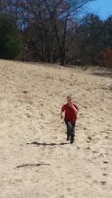 Shaun running